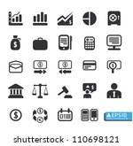 finance and business vector...   Shutterstock .eps vector #110698121