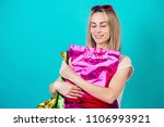 portrait of a stylish and... | Shutterstock . vector #1106993921