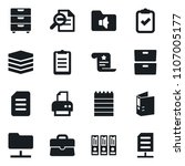 set of simple vector isolated... | Shutterstock .eps vector #1107005177