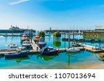 ramsgate  kent  uk   june 03 ... | Shutterstock . vector #1107013694