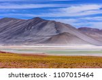 beautiful atacama desert | Shutterstock . vector #1107015464