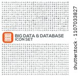 big data and database vector... | Shutterstock .eps vector #1107033827