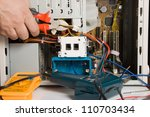 electrician   Shutterstock . vector #110703434