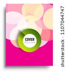 abstract colorful background... | Shutterstock .eps vector #1107044747