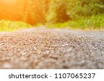 asphalt road close up in a... | Shutterstock . vector #1107065237