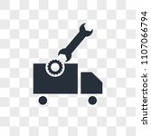 vehicle inspection vector icon... | Shutterstock .eps vector #1107066794