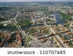 aerial view of eskilstuna in...   Shutterstock . vector #110707685