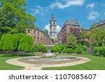 mons  wallonie  belgium  ... | Shutterstock . vector #1107085607