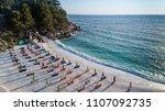 marble beach  saliara beach  ... | Shutterstock . vector #1107092735