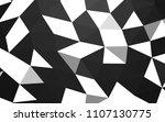 dark black vector blurry... | Shutterstock .eps vector #1107130775
