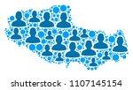 population tibet chinese... | Shutterstock .eps vector #1107145154
