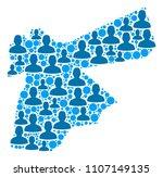 population jordan map....   Shutterstock .eps vector #1107149135