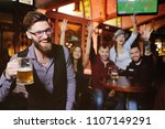 group or company of friends  ...   Shutterstock . vector #1107149291
