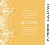 invitation or card templates...   Shutterstock .eps vector #1107157091