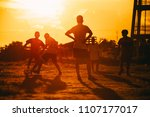 an action sport picture of a...   Shutterstock . vector #1107177017