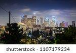 los angeles  california  usa... | Shutterstock . vector #1107179234