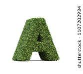 3d rendering of grass playing... | Shutterstock . vector #1107202934