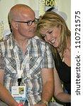 gary jones and amanda tapping...   Shutterstock . vector #110721575