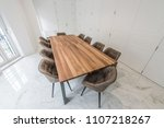 conference office room interior | Shutterstock . vector #1107218267
