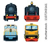 set of different types of... | Shutterstock .eps vector #1107243161