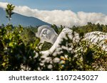 statue of sleeping buddha at... | Shutterstock . vector #1107245027