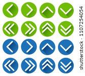 illustration of arrows icons on ...