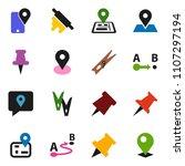 solid vector ixon set  ... | Shutterstock .eps vector #1107297194