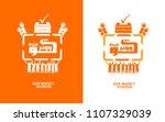 give respect to voter written... | Shutterstock .eps vector #1107329039