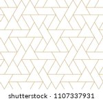 pattern with thin lines ... | Shutterstock .eps vector #1107337931