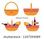 illustration vector flat...   Shutterstock .eps vector #1107354089