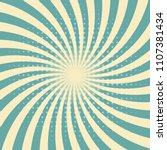 circus graphic radius effects... | Shutterstock .eps vector #1107381434