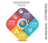 infographic template and... | Shutterstock .eps vector #1107382331