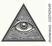 vector icon of the masons... | Shutterstock .eps vector #1107429149