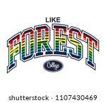 slogan print design  t shirt... | Shutterstock .eps vector #1107430469