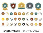 cloudy day icon | Shutterstock .eps vector #1107479969
