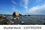 ice age carved coastline in... | Shutterstock . vector #1107502454