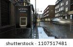 3d rendering perfume billboard...   Shutterstock . vector #1107517481