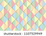 colorful triangles background ... | Shutterstock .eps vector #1107529949