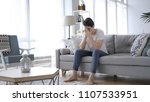 upset young man in tension...   Shutterstock . vector #1107533951