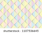 abstract colorful triangles... | Shutterstock .eps vector #1107536645