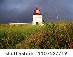 farol da ponta do pargo ilha da ... | Shutterstock . vector #1107537719