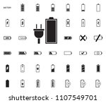 accumulator battery icon....   Shutterstock .eps vector #1107549701