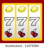 777 casino slot design | Shutterstock .eps vector #11075584