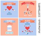 drug awareness prevention... | Shutterstock .eps vector #1107566891