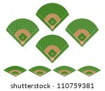 Set of Baseball Fields 1