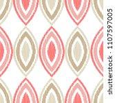 ethnic boho seamless pattern.... | Shutterstock .eps vector #1107597005