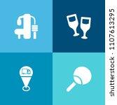 modern  simple vector icon set... | Shutterstock .eps vector #1107613295
