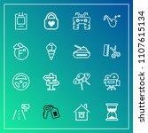 modern  simple vector icon set...   Shutterstock .eps vector #1107615134