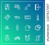 modern  simple vector icon set...   Shutterstock .eps vector #1107617357