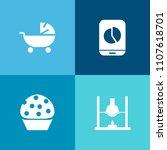 modern  simple vector icon set...   Shutterstock .eps vector #1107618701